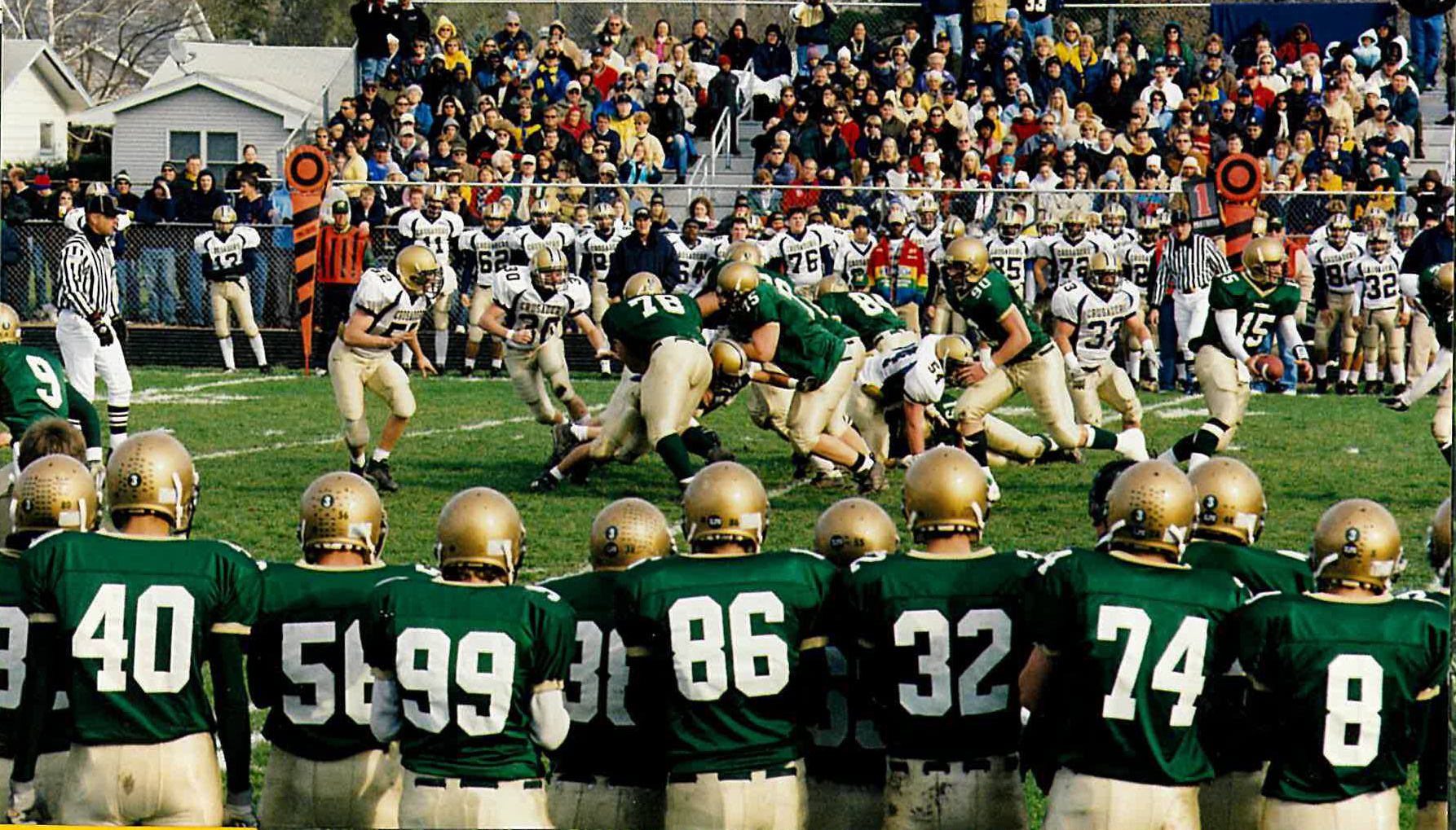 Talented '03 Mattoon football had the perfect game in routing powerhouse Althoff to reach state semifinals