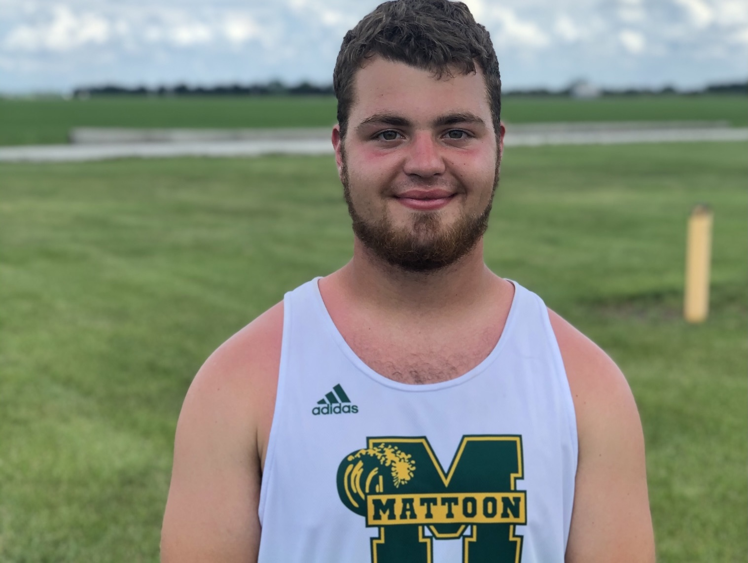 Mattoon's Dakota Spencer has sights on All-State awards in discus
